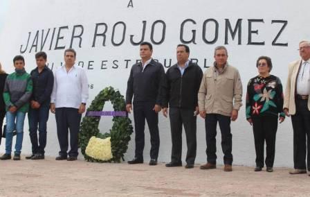 48 Aniversario del fallecimiento del exgobernador del estado Javier Rojo Gómez 3