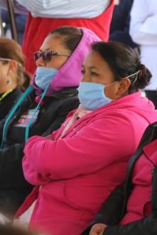 En esta época invernal, se exhorta a población a prevenir infecciones respiratorias