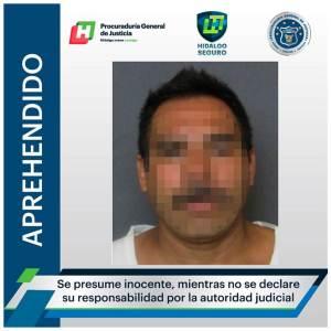 Por homicidio ocurrido en Chapulhuacán, un hombre fue aprehendido y vinculado a proceso