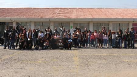 alcalde de tizayuca reconoce a la fundación lala