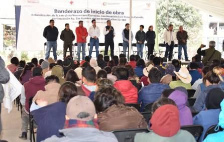 arranca reconstrucción de carretera en acaxochitlán3