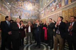 capilla sixtina, obra artística más importante de todos los tiempos, omar fayad6