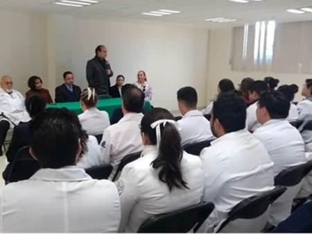 conmemoran el quinto aniversario del hospital general de pachuca campus arista