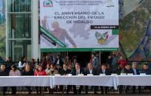 conmemoran en tizayuca el 150 aniversario de la erección del estado de hidalgo 1