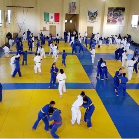 el judo hidalguense se foguea para el nacional clasificatorio 2019