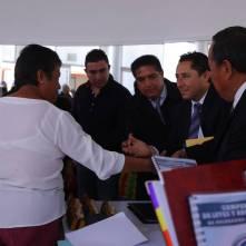 entrega alcalde raúl camacho sellos oficiales a delegados y subdelegados de mineral de la reforma 5