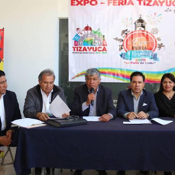 gabriel garcía rojas anuncia que ya está todo listo para la expo feria tizayuca 20193