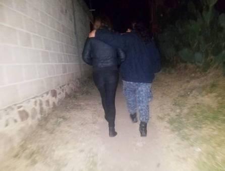 localiza policía estatal a dos adolescentes extraviadas2