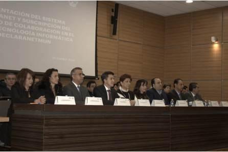 poder judicial, organismos autónomos y municipios suscriben convenio de colaboración con la contraloría para uso de declaranet4