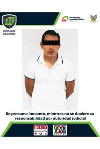 """policía estatal detiene a individuo por presunta """"sextorsión"""" en pachuca"""