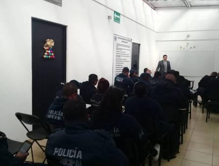 policías municipales de tizayuca reciben capacitación en materia de derechos humanos1