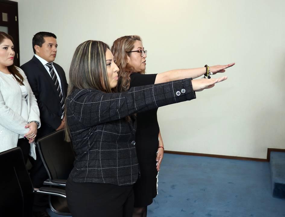 rindieron protesta dos nuevas juezas del fuero común2