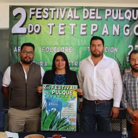 se alista el 2do festival del pulque en tetepango
