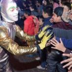 tradicional cabalgata de reyes magos llega a la región de zimapán4