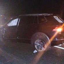 Accidente entre par de vehículos deja dos personas gravemente lesionadas2