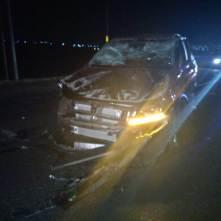 Accidente entre par de vehículos deja dos personas gravemente lesionadas3