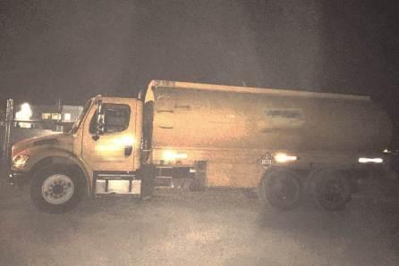Aseguran en Tizayuca pipa cargada con hidrocarburo