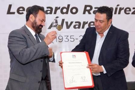 CDE del PRI realiza homenaje póstumo al priista Leonardo Ramírez Álvarez2