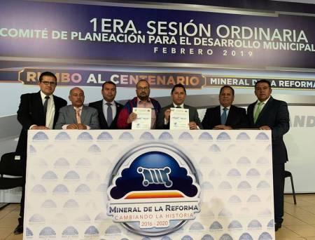 Celebra Mineral de la Reforma 1era Sesion Ordinaria de COPLADEM1