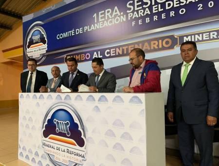 Celebra Mineral de la Reforma 1era Sesion Ordinaria de COPLADEM2