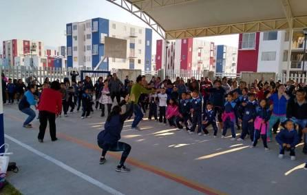 Celebran con actividades deportivas Día del Amor y la Amistad en Mineral de la Reforma 2