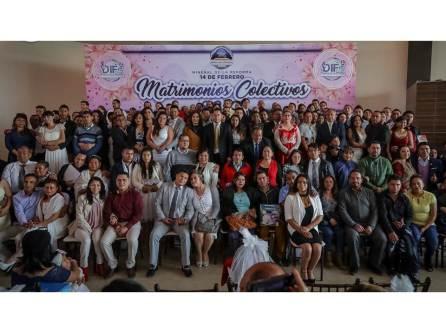 Celebran Matrimonios Colectivos 2019 en Mineral de la Reforma en el marco del Día del Amor y la Amistad2