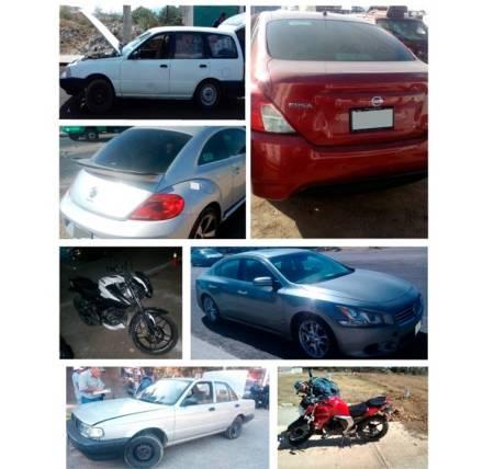 Con acciones preventivas, recupera Policía Estatal vehículos robados