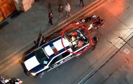 Con videovigilancia y operativo policial, disuaden riña callejera en Tulancingo3