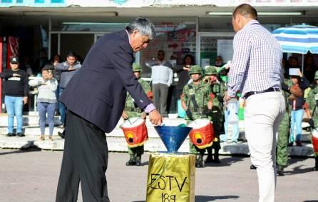 Conmemoran en Tizayuca el 198 Aniversario del Día de la Bandera3