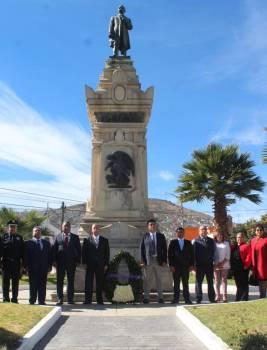 Daniel Jiménez encabezó guardia de Honor a Francisco I Madero 4
