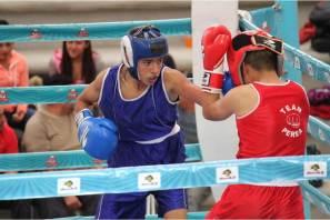Definen box y levantamiento de pesas equipo para el regional del SNC