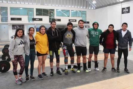 Definen box y levantamiento de pesas equipo para el regional del SNC4