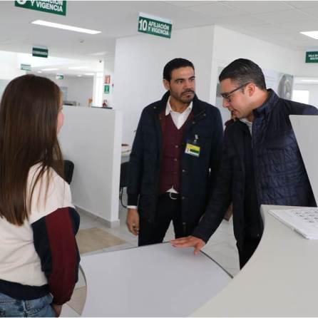 Delegado del IMSS en Hidalgo visita guardería en Ciudad Sahagún