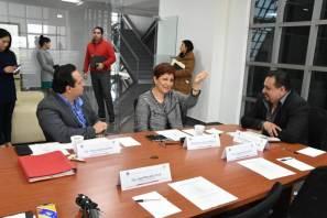 Diputados escuchan propuestas de titular del TSJEH para fortalecer marco jurídico en beneficio de familia y niñez
