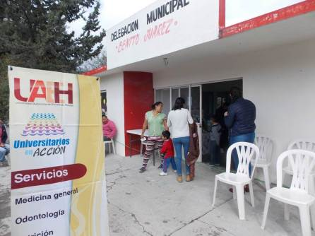 En puerta, segundo informe de UAEH