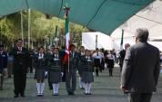 Encabeza titular de SEPH conmemoración del Día de la Bandera y abanderamiento de escoltas3
