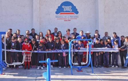 Entrega gobierno municipal de Mineral de la Reforma aparatos ejercitadores en Pachuquilla1