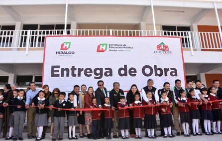 Entrega titular de SEPH obras de infraestructura educativa en Cuautepec4
