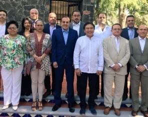 Expone presidente de la CDHEH recomendaciones generales ante representantes de Zona Este de la FMOPDH1