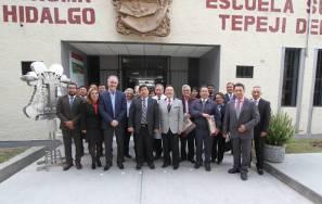 Firma UAEH cinco convenios de colaboración en beneficio de alumnos del ESTe3