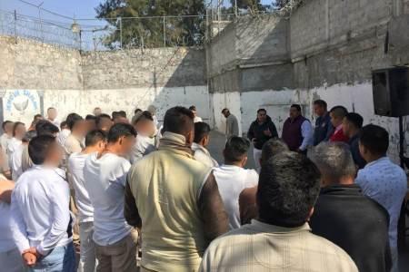 Implementan programa Interinstitucional en Cárcel Distrital de Tizayuca