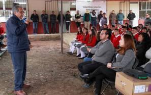 Inaugura titular de SEPH planteles de Telebachillerato en Acatlán2