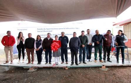 Inaugura titular de SEPH planteles de Telebachillerato en Acatlán4