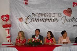 Más de 80 parejas de Zempoala participaron en la ceremonia de matrimonios colectivos7