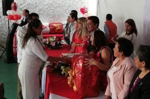 Más de 80 parejas de Zempoala participaron en la ceremonia de matrimonios colectivos9