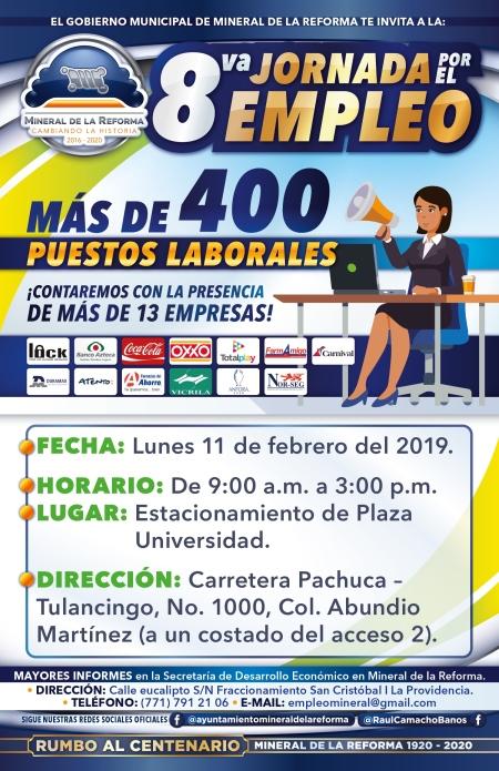 Octava Jornada por el empleo MR Enero - Febrero 2019-01 (2)