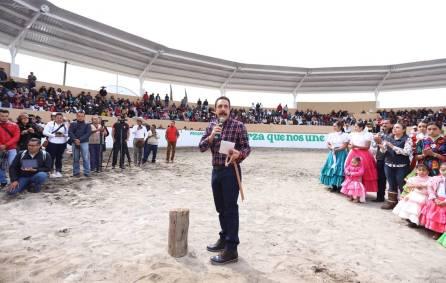 Omar Fayad entrega rehabilitación de Lienzo Charro en Progreso de Obregón1