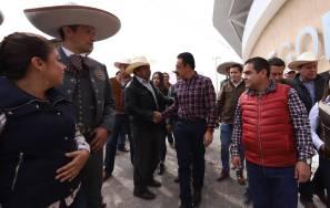 Omar Fayad entrega rehabilitación de Lienzo Charro en Progreso de Obregón4