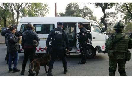 """Policías de tres entidades realizan primer operativo""""Rastrillo Metropolitano""""4"""