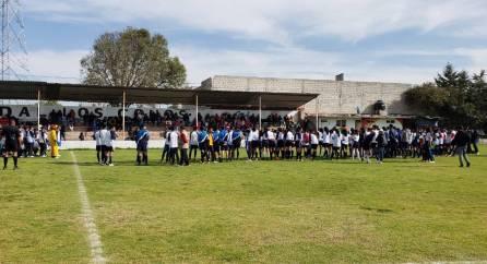Ponen en marcha la Tercera Copa de Fútbol Intersecundarias, como parte de la Expo Feria Tizayuca 2019-3